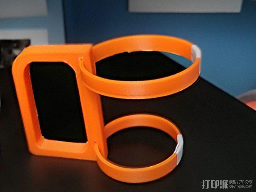 纸杯杯架/把手 3D模型  图5