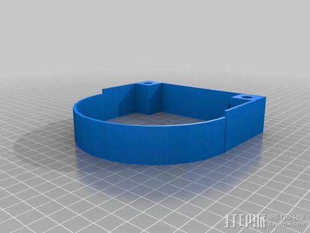 可扩展油门操纵杆 3D模型  图3