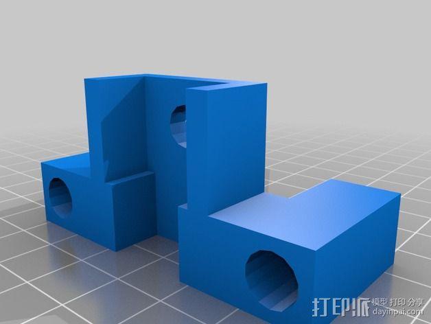 可扩展油门操纵杆 3D模型  图4