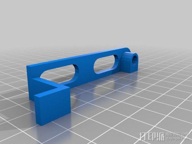 可扩展油门操纵杆 3D模型  图6