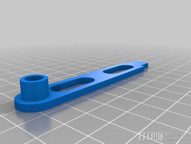 可扩展油门操纵杆 3D模型  图5