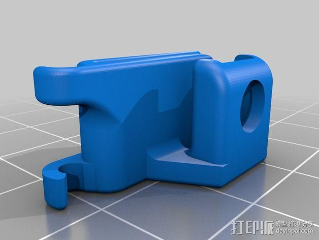 麦克风固定夹 3D模型  图2