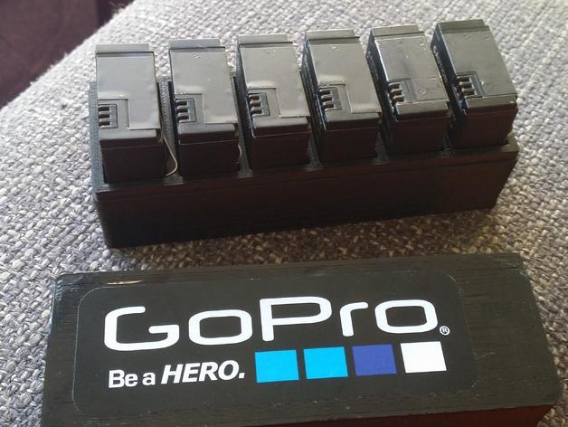 GoPro相机电池盒 3D模型  图3