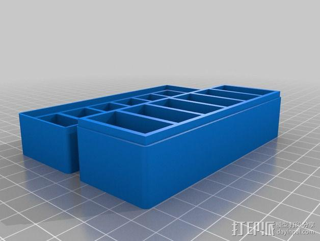 GoPro相机电池盒 3D模型  图5