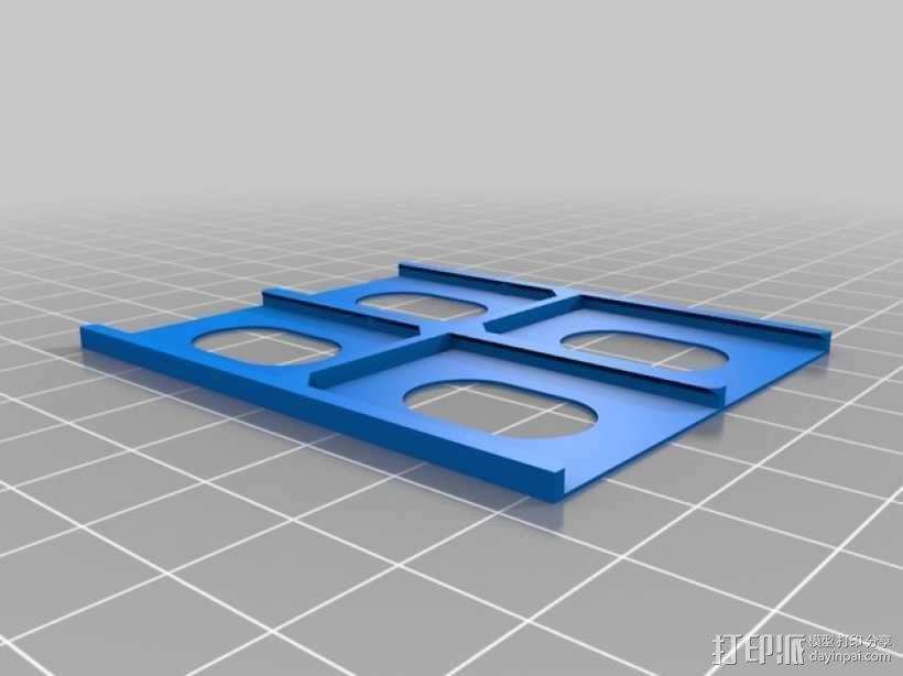SD卡收纳盒 3D模型  图7