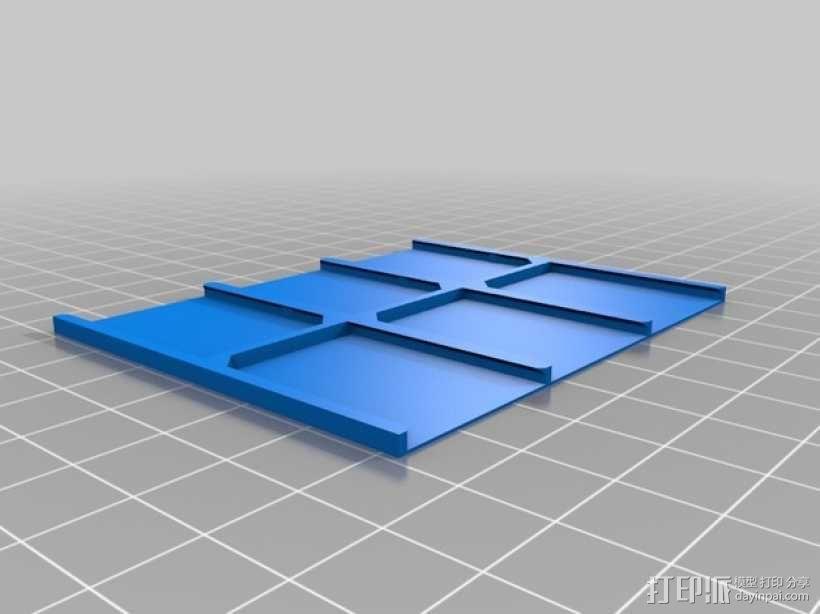 SD卡收纳盒 3D模型  图10