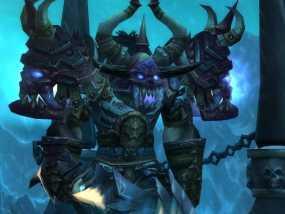 游戏《魔兽世界》牛头人死亡骑士 3D模型