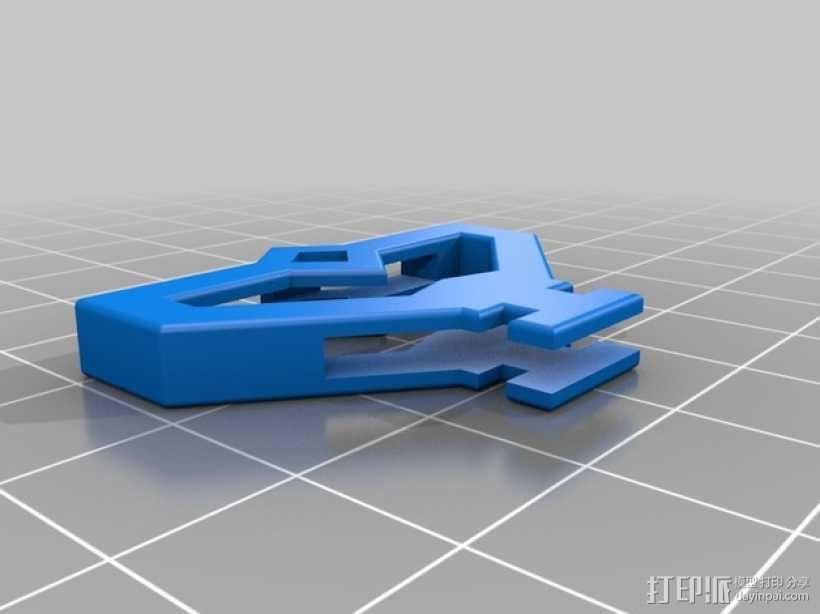 游戏《Ingress》钥匙套 3D模型  图2