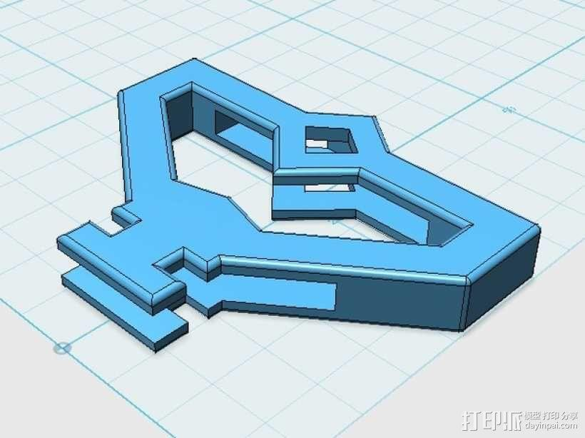 游戏《Ingress》钥匙套 3D模型  图3