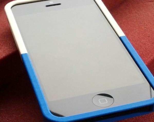 拼图形iPhone5手机套 3D模型  图2