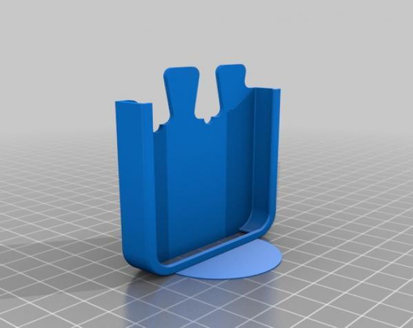 拼图形iPhone5手机套 3D模型  图3