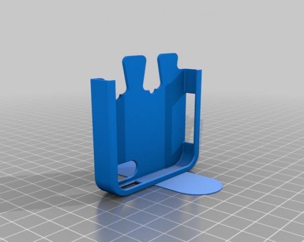 拼图形iPhone5手机套 3D模型  图4