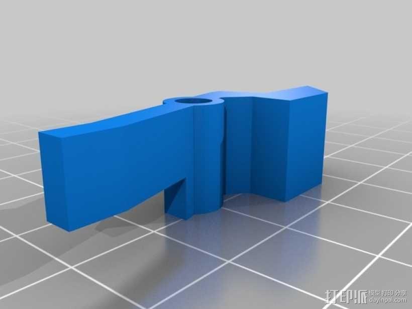 ps3游戏机控制底座 3D模型  图6