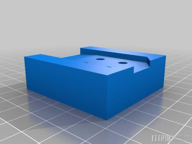 ps3游戏机控制底座 3D模型  图5
