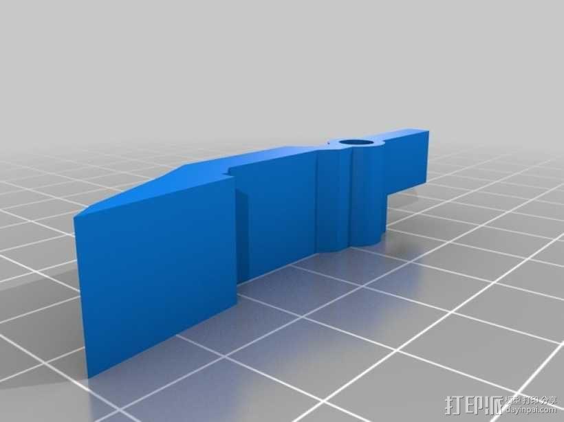 ps3游戏机控制底座 3D模型  图8