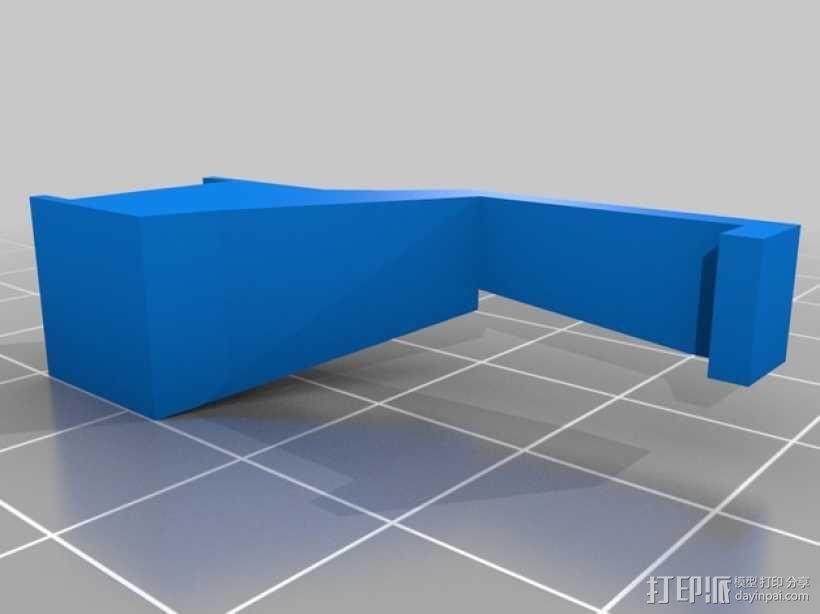 ps3游戏机控制底座 3D模型  图10