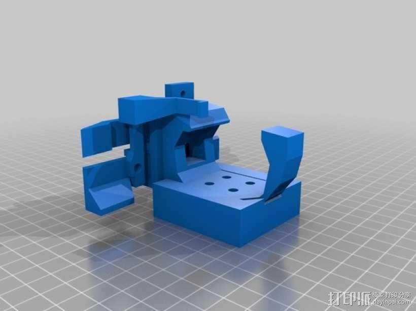 ps3游戏机控制底座 3D模型  图11
