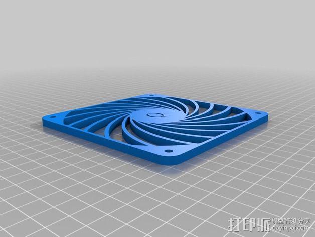 风扇罩 风扇盖 3D模型  图5