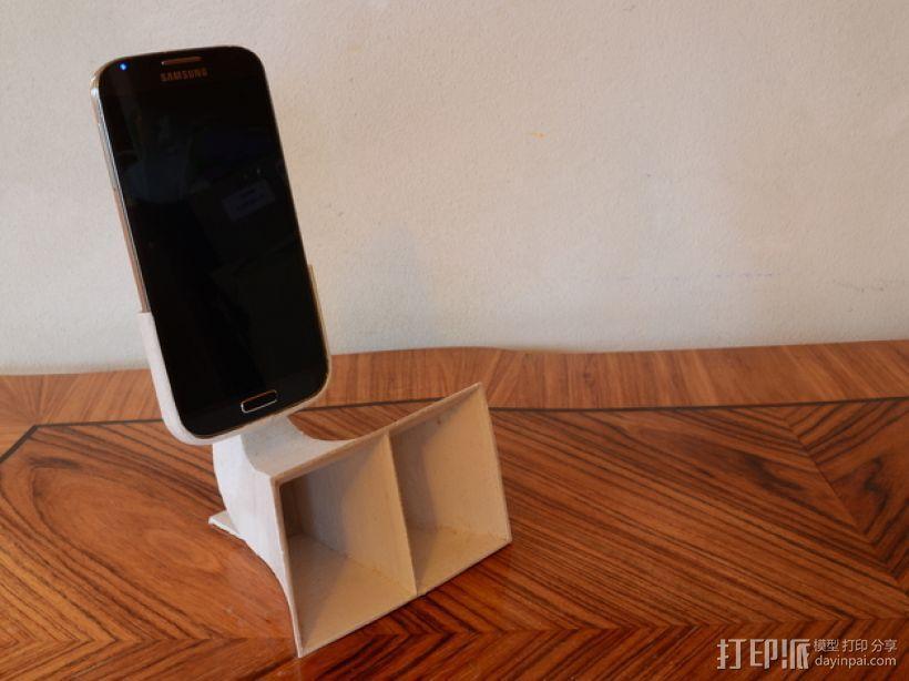 三星Galaxy S4手机扬声装置 3D模型  图1
