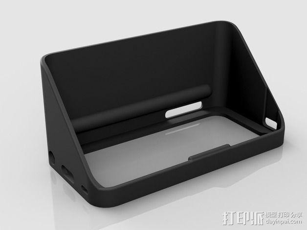 iPhone5遮光罩 3D模型  图1