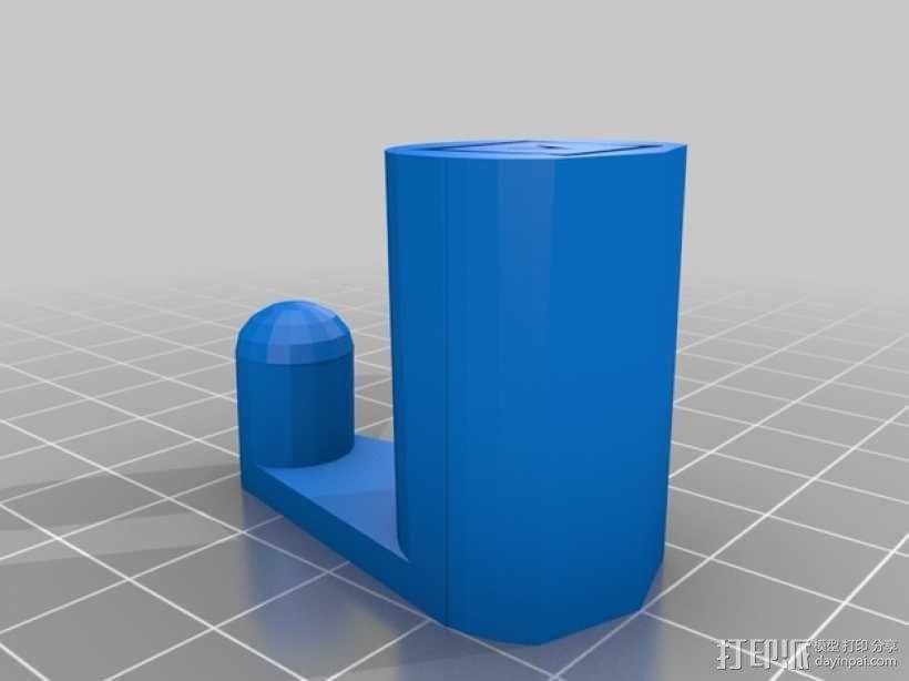 笔记本电脑支撑架 3D模型  图2