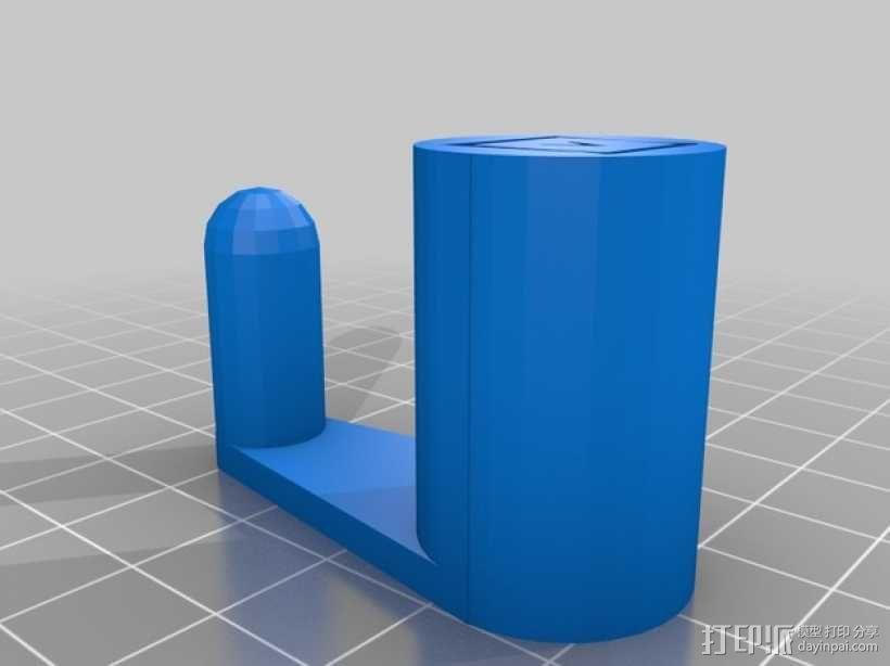 笔记本电脑支撑架 3D模型  图7