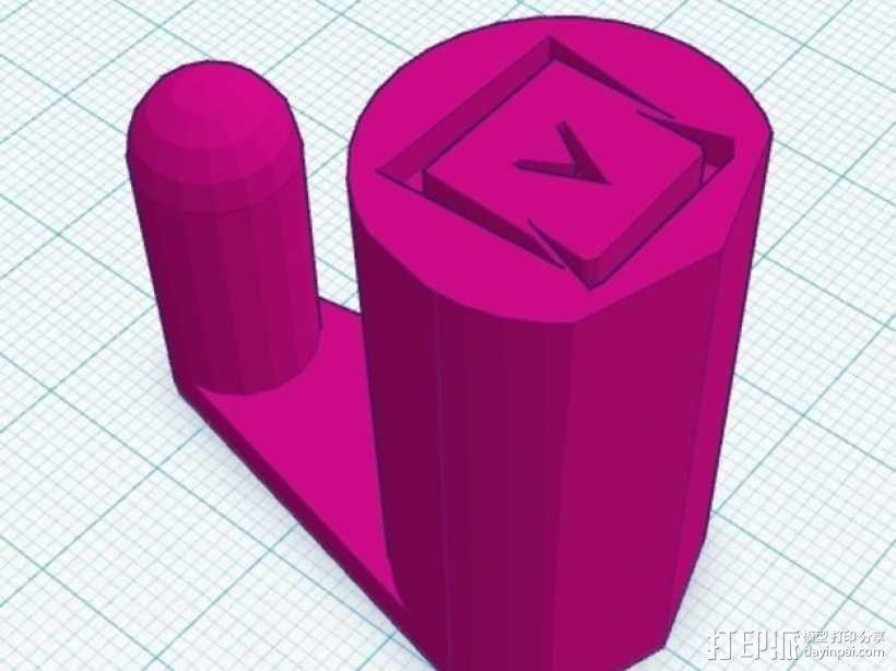 笔记本电脑支撑架 3D模型  图9