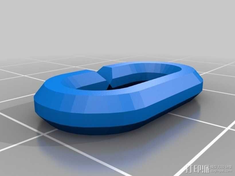 耳机收纳器 钥匙扣 3D模型  图12