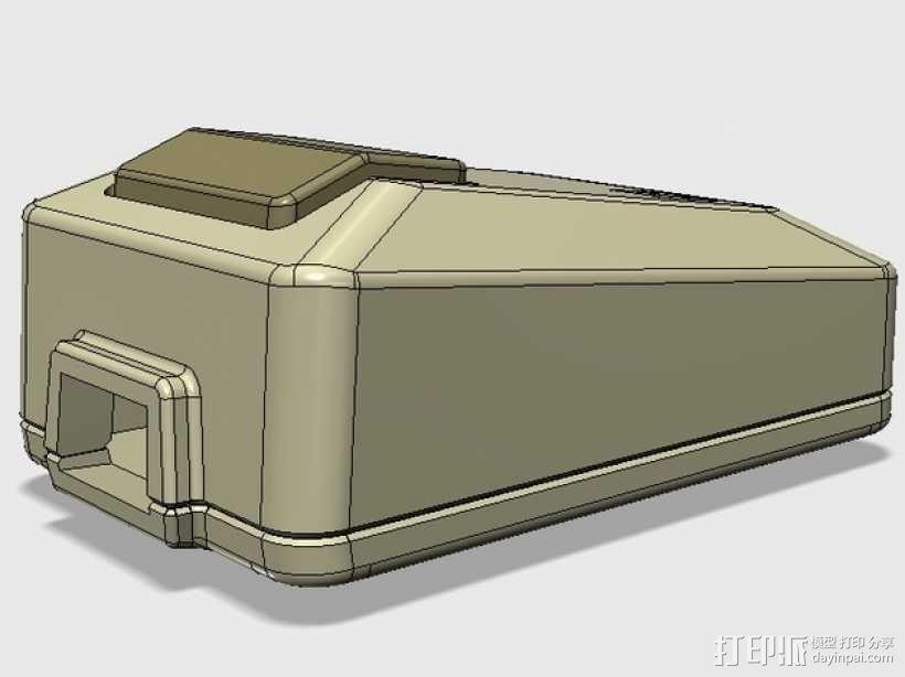 苹果电脑鼠标 3D模型  图1