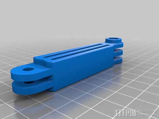 GoPro 相机自拍杆 3D模型  图2