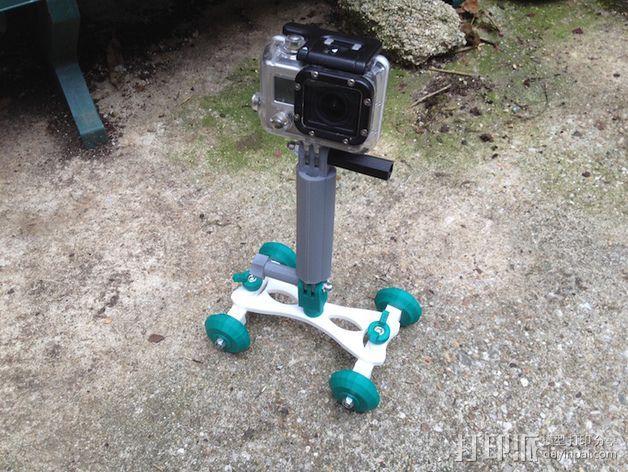 Gopro相机支撑架 3D模型  图4