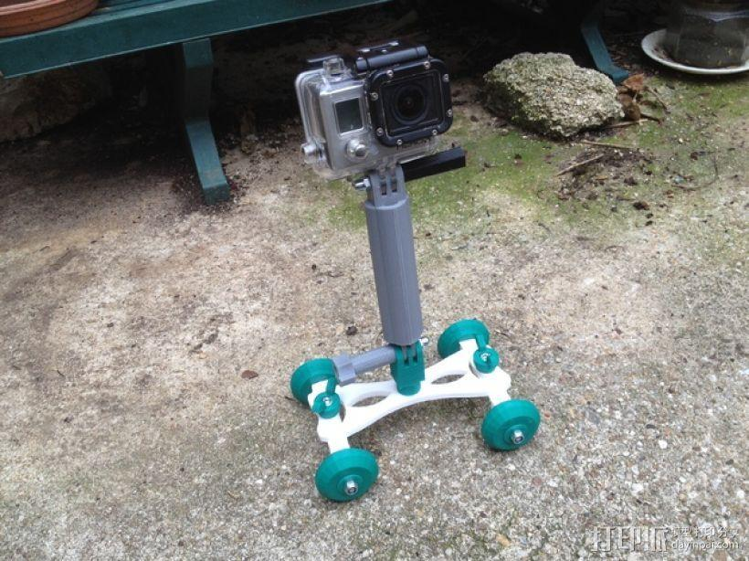 Gopro相机支撑架 3D模型  图8