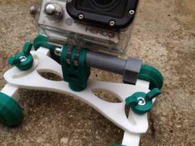 GoPro 相机底座 3D模型