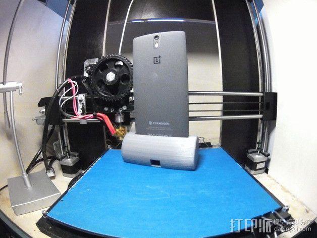 带USB插槽的手机支座  3D模型  图4