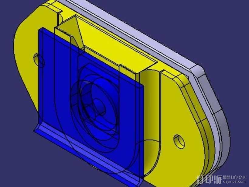 DSLR单反相机固定器 3D模型  图7