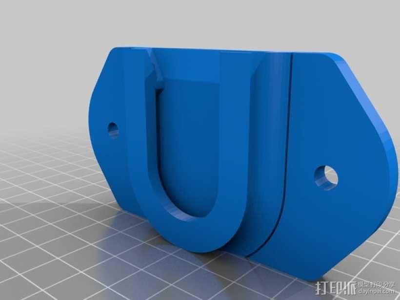 DSLR单反相机固定器 3D模型  图11