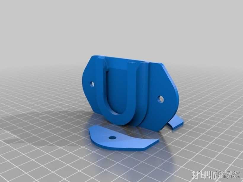 DSLR单反相机固定器 3D模型  图12