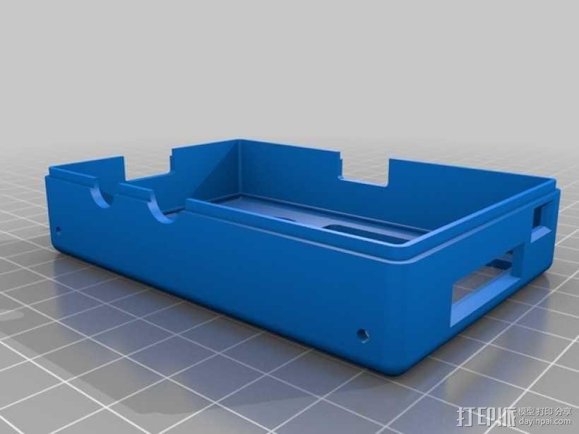 树莓派外壳 3D模型  图6