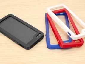 iPhone 5/5S手机壳 3D模型