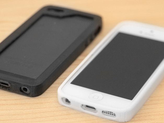 iPhone 5/5S手机壳 3D模型  图4