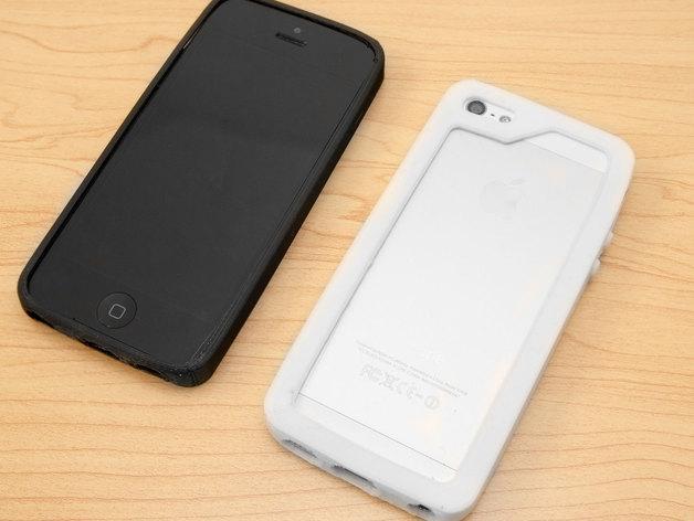 iPhone 5/5S手机壳 3D模型  图2