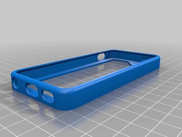 iPhone 5/5S手机壳 3D模型  图6