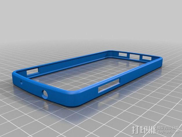 Nexus 5手机保护壳 3D模型  图2
