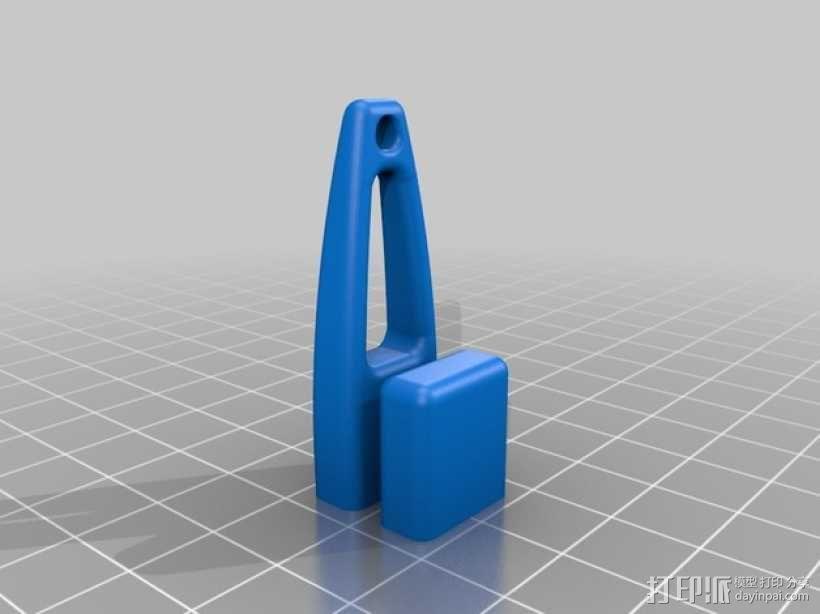 优盘壳  3D模型  图2