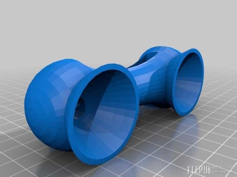 手机扩音器 3D模型  图1