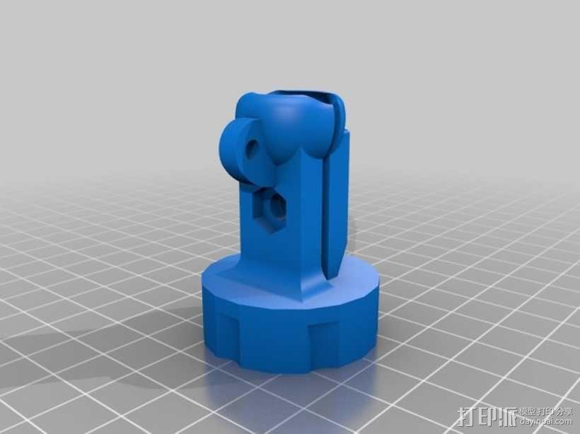 GoPro 相机悬挂式固定座 3D模型  图5