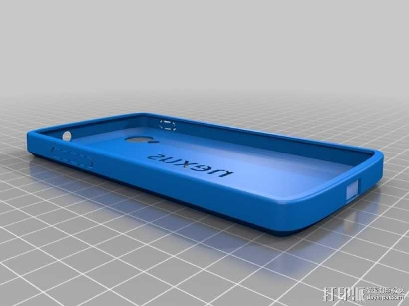 Nexus 5手机木质外壳 3D模型  图2