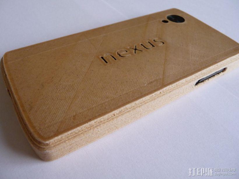 Nexus 5手机木质外壳 3D模型  图4