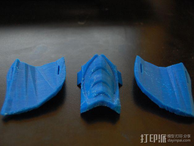 格斗面具 3D模型  图2