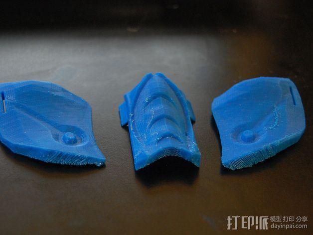 格斗面具 3D模型  图3